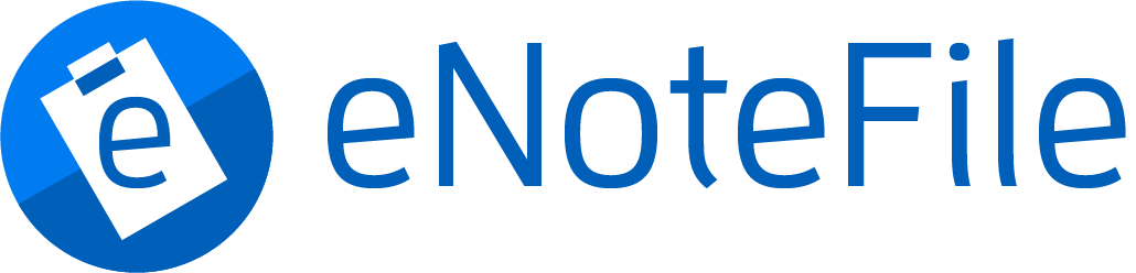 eNoteFile Logo Large